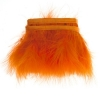 Marabou Trim 3-4in Aprox. 13g 1Yd Orange